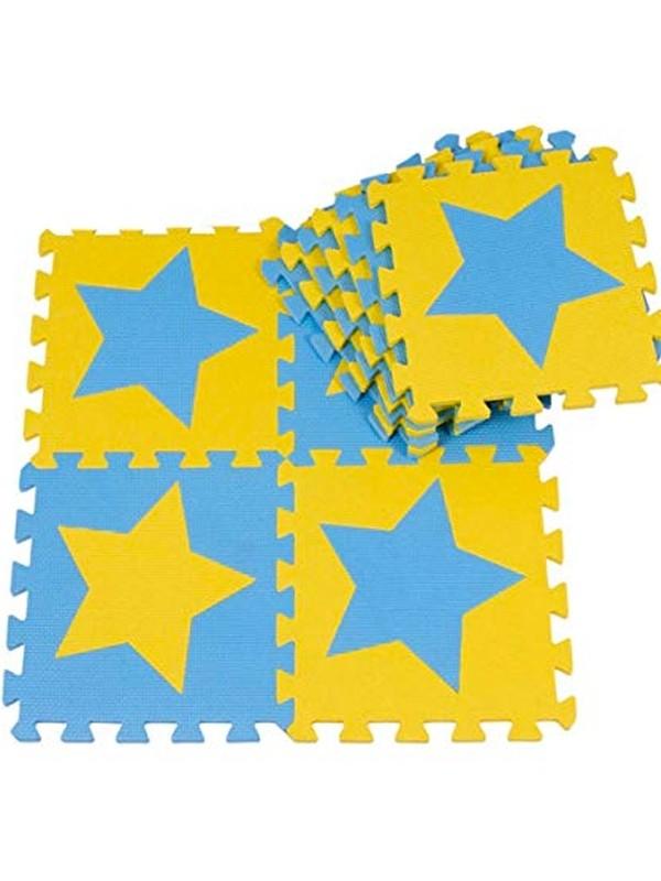 separation shoes 050d5 38a84 3ft x 3ft Childrens Play Mat / Eva Foam Mattress - Stars